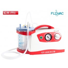 Portable Suction Unit CA-MI ASKIR 230 12V BR FLOVAC®  Disposable Liner System
